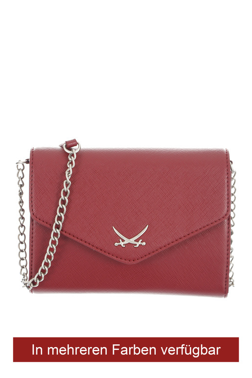 B-673 Clutch , one size, MERLOT