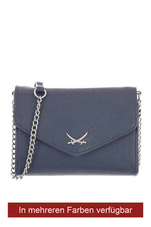 B-673 Clutch , one size, MIDNIGHT BLUE