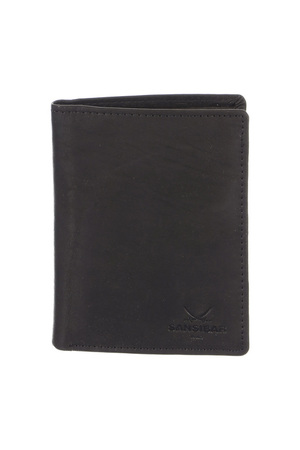 B-247 Wallet , one size, darkbrown