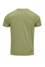 Herren T-Shirt Vintage Pin Up , olive, XS