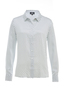 Damen Bluse ALL OVER , white, XS