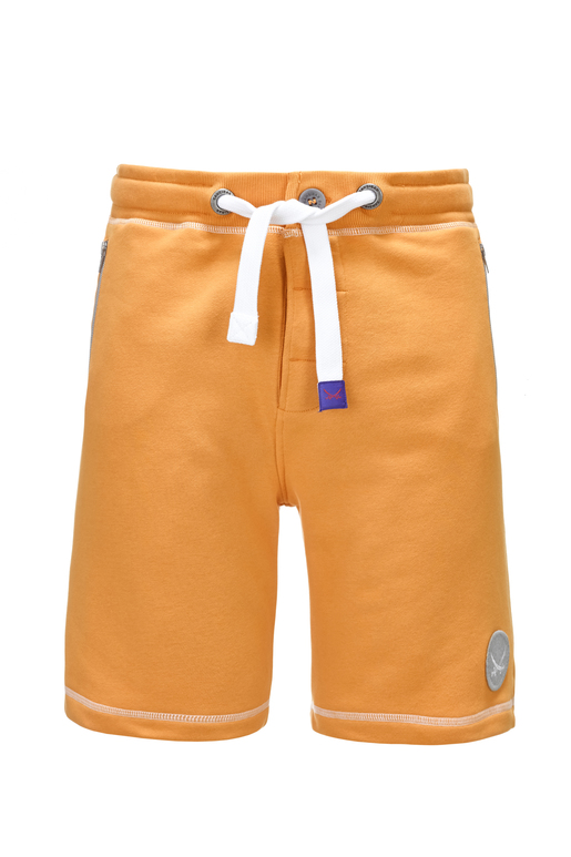 Herren Sweatshorts Sansibar , Orange, XXS