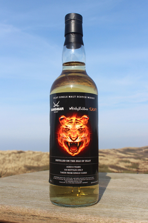 "Sansibar Whisky Islay Malt  ""Tiger"" 8y 0,7ltr."