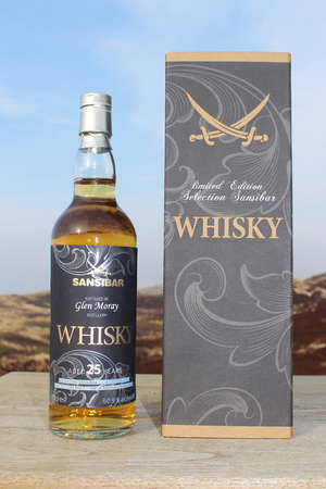 Sansibar Whisky Glen Moray 25y 0,7ltr.