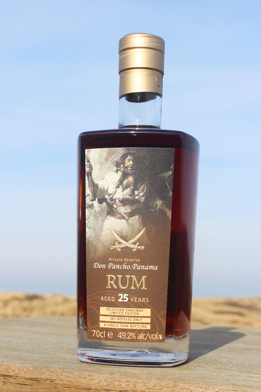 "Sansibar Panamanian Rum Private Reserve ""Don Pancho"" 25y 0,7ltr."