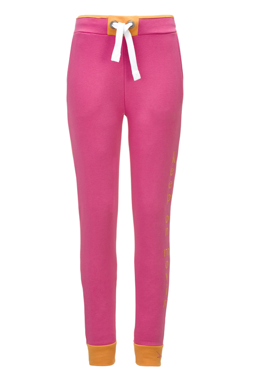 "Damen Sweathose ""Keep on Movin"" , fuchsia, XXS"