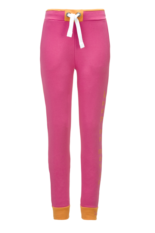 "Damen Sweathose ""Keep on Movin"" , fuchsia, M"