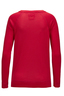Damen Longsleeve ROCK , red, XXS