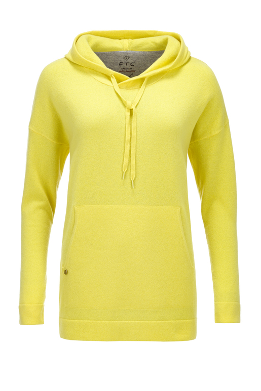 FTC Damen Hoody , yellow, XS