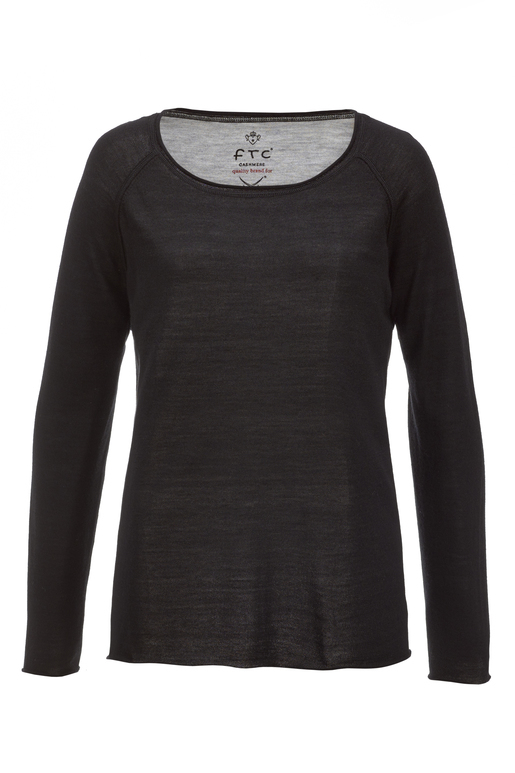 FTC Damen Pullover , black, XL