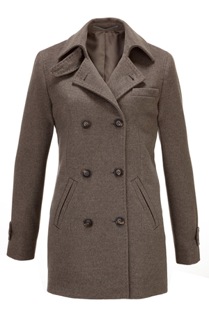 Damen Cabanjacke , brown, XXL