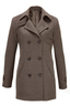 Damen Cabanjacke , brown, XXXL
