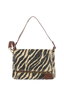 B-894 Flap Bag Clutch , one size, ZEBRA