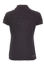 Damen Poloshirt Tone-in-Tone , black, S