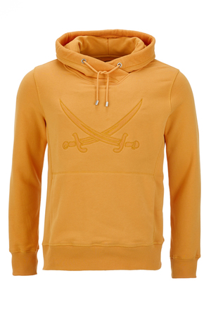 Herren Hoody SWORD-SON , Orange, XXXXL