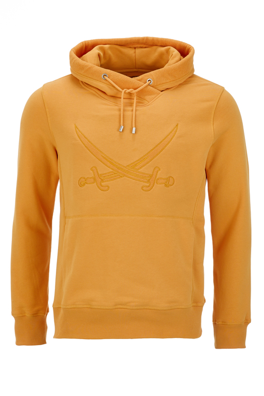 Herren Hoody SWORD-SON , Orange, XS