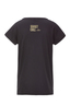 Damen T-Shirt Monkey , black, S