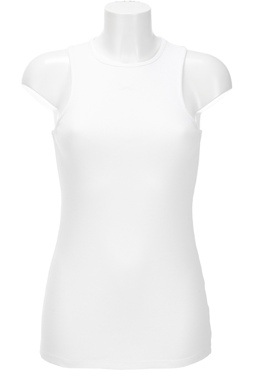 Damen High-Crewneck Top , white, XXS