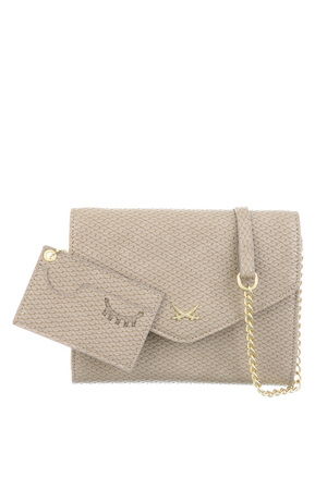 SB-1253 Clutch , One Size, GREY