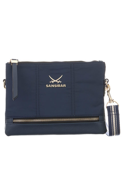 SB-1271 Zip Bag , one size, NAVY
