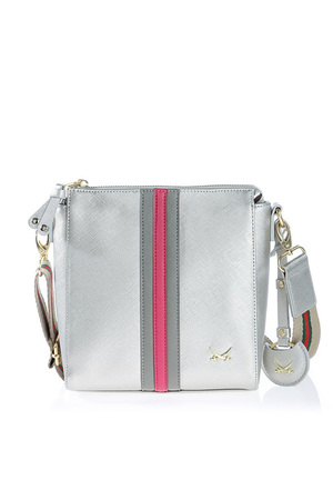 SB-1306 Crossover Bag , one size, SILVER