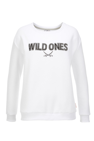Damen Sweater WILD ONES , silvermelange, XXXL