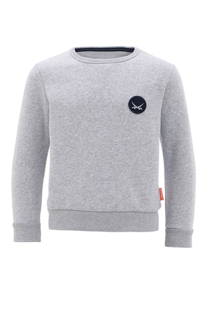 Boys Sweater Logo , navy, 92/104