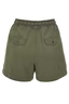Damen Shorts Tencel , olive, XXS