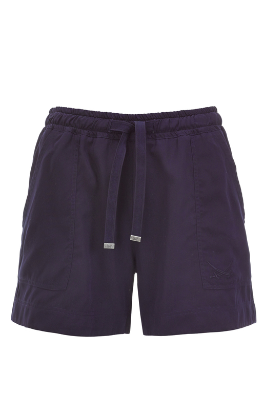 Damen Shorts Tencel , navy, XXS