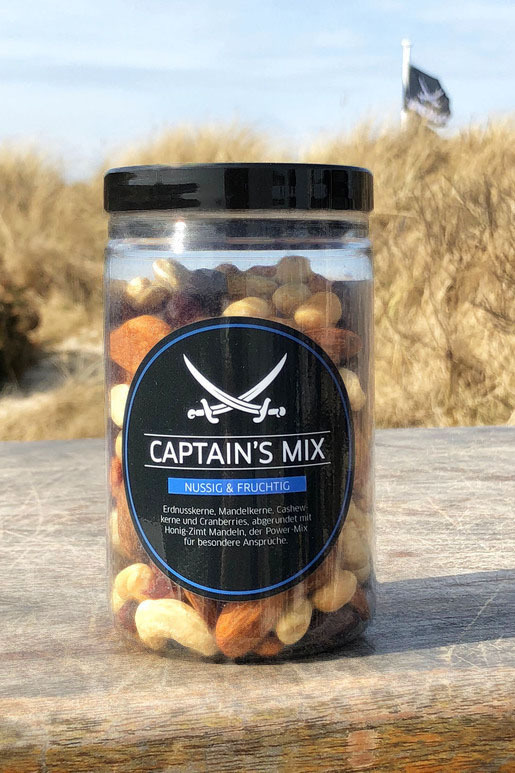 "Sansibar Nüsse ""Captains Mix""  200g"