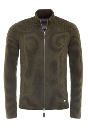 FTC Herren Strickjacke , green, S