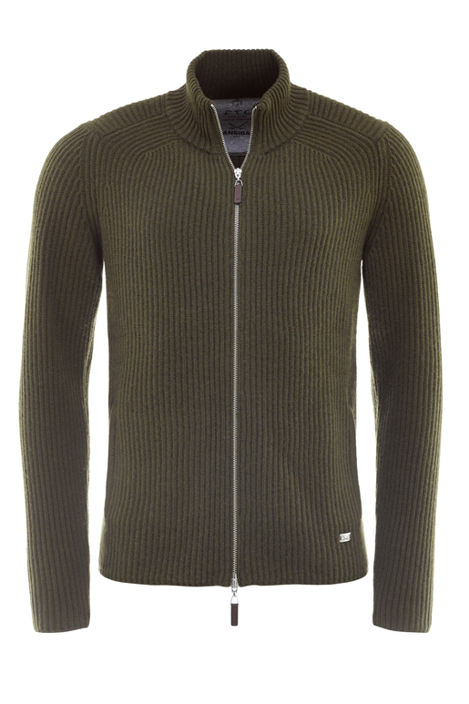 FTC Herren Strickjacke , green, M