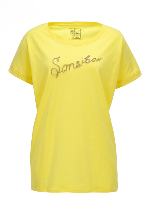 Damen Oversize T-Shirt Sansibar , yellow, XL