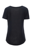 Damen T-Shirt AOP , black, XXS