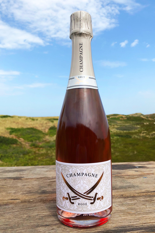 "Champagne Louis d'Or Rosé ""only Sansibar"" 0,75l"