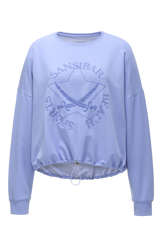 "Damen Sweater ""SANSIBAR BEACH SPORTS"" , blue, XS"