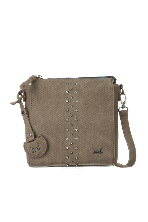 SB-1324-037 Crossover Bag , one size, TAUPE