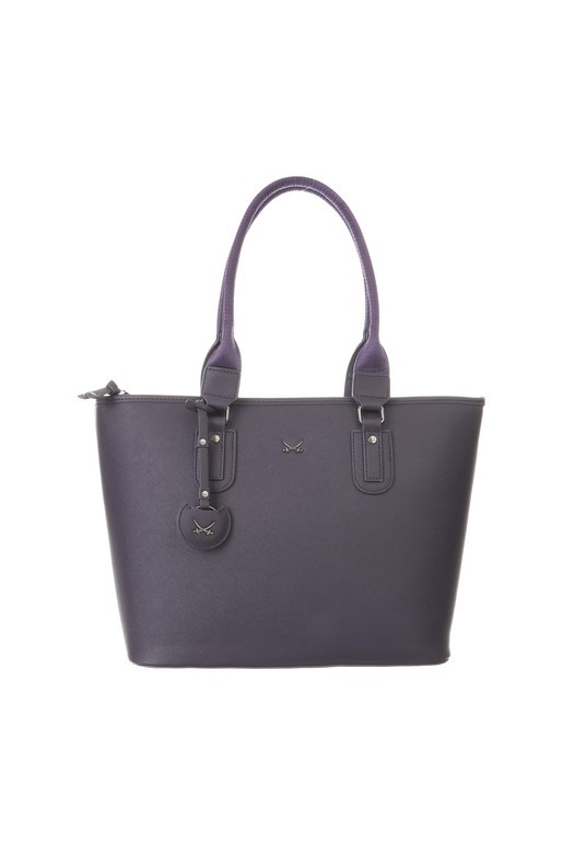 SB-1334-038 Shopper Bag , one size, AUBERGINE