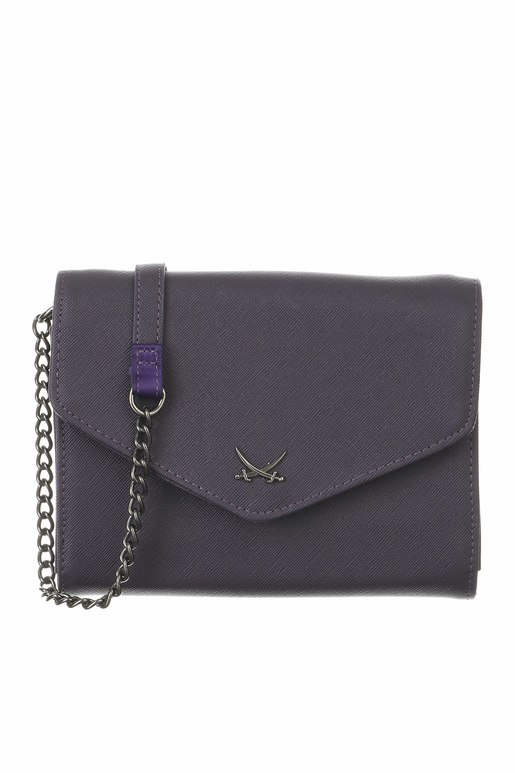 SB-1335-003 Clutch , one size, AUBERGINE