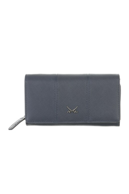SB-1338-003 Wallet Flap L , one size, MIDNIGHT BLUE