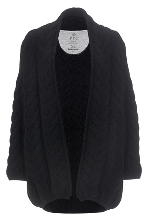 FTC Damen Cardigan , black, XS/S