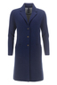 FTC Damen Doubleface Mantel HS1076 , midnight blue, XXXL
