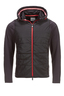 Herren Padded Softshelljacke , black, XS