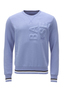 Herren Sweater BASE , greyblue, XS