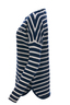FTC Damen Pullover STRIPES , blue/ white, XL