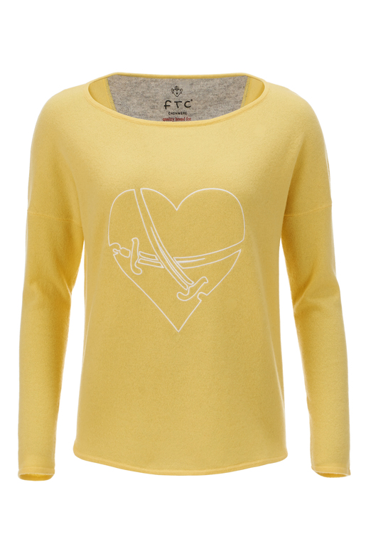 FTC Damen Pullover SWORDS , yellow, XL
