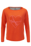 FTC Damen Pullover SWORDS , Orange, XXL
