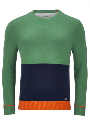 FTC Herren Pullover Crew-Neck , multicoloured, M