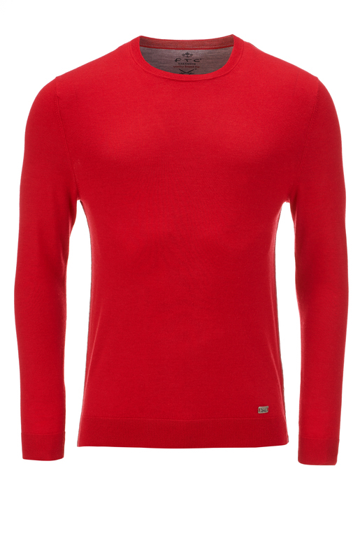 FTC Herren PulloverCrew-Neck , red, XL