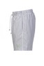 Herren Swimshorts FLOWER , GREY/WHITE, XXXXL